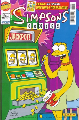 Simpsons Comic Nr. 155