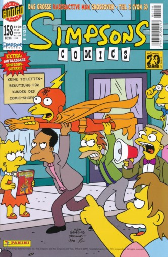Simpsons Comic Nr. 158