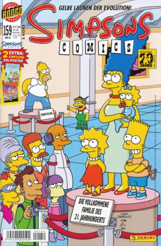 Simpsons Comic Nr. 159