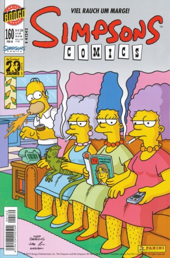 Simpsons Comic Nr. 160