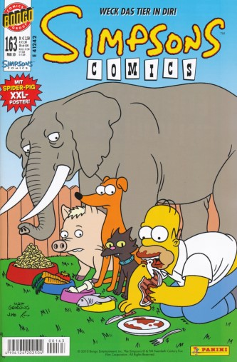 Simpsons Comic Nr. 163