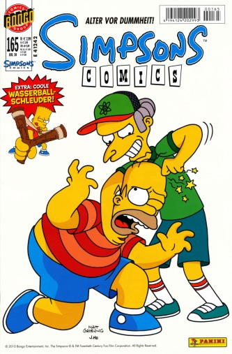 Simpsons Comic Nr. 165