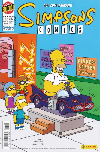 Simpsons Comic Nr. 166