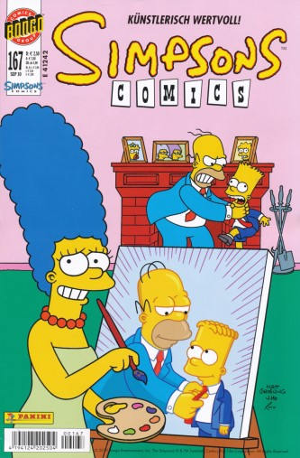 Simpsons Comic Nr. 167