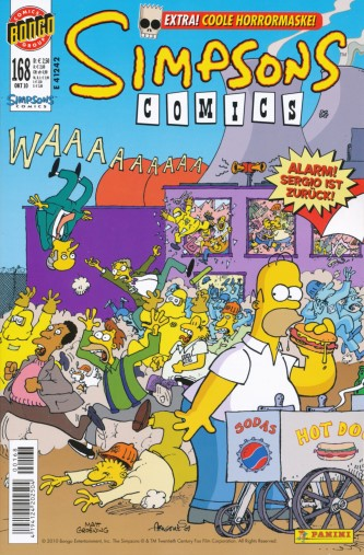 Simpsons Comic Nr. 168