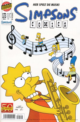 Simpsons Comic Nr. 173