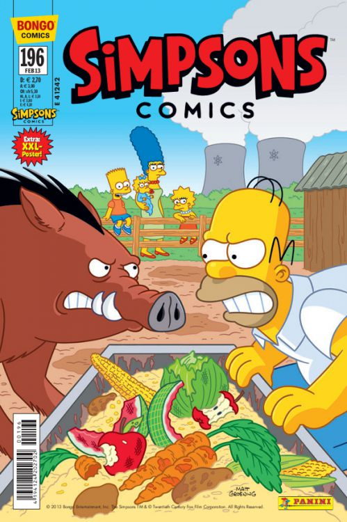 Simpsons Comic Nr. 196