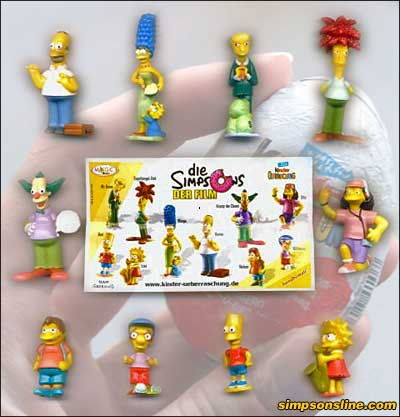Simpsons Ü-Ei-Figuren (2007)