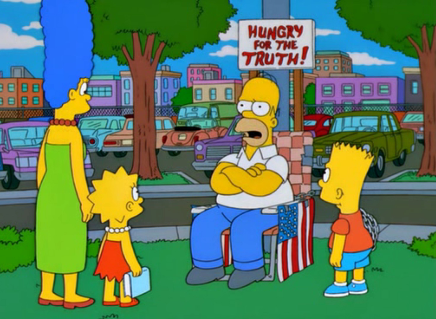 Die Simpsons - Der hungrige, hungrige Homer
