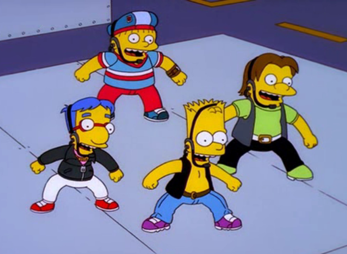 Die Simpsons - Die sensationelle Pop-Gruppe