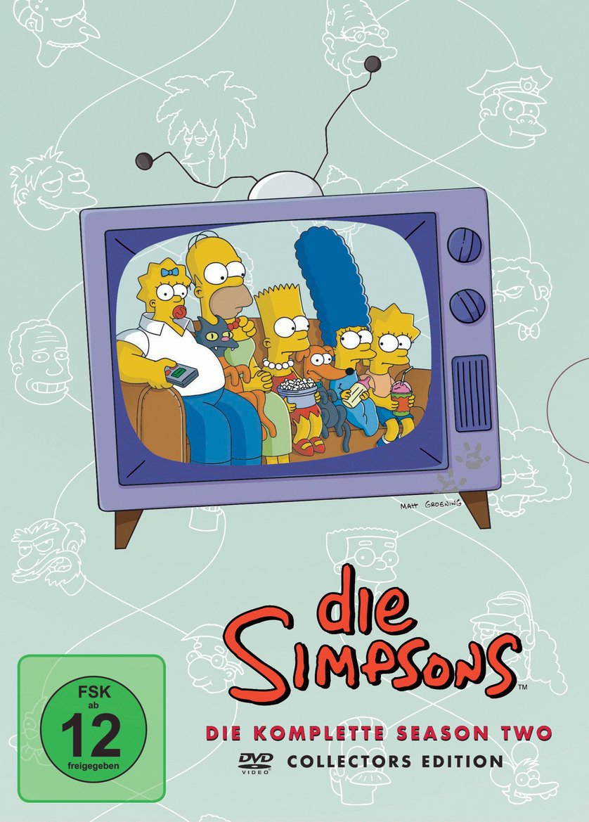 Simpsons Staffel 2 Collection
