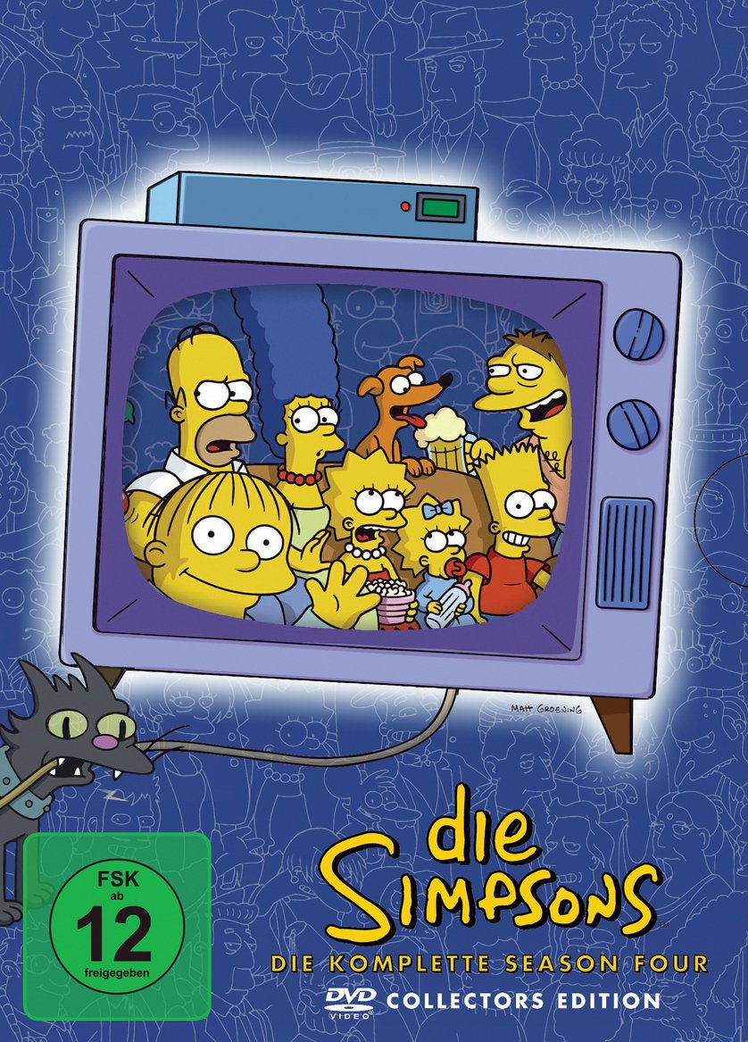 Simpsons Staffel 4 Collection