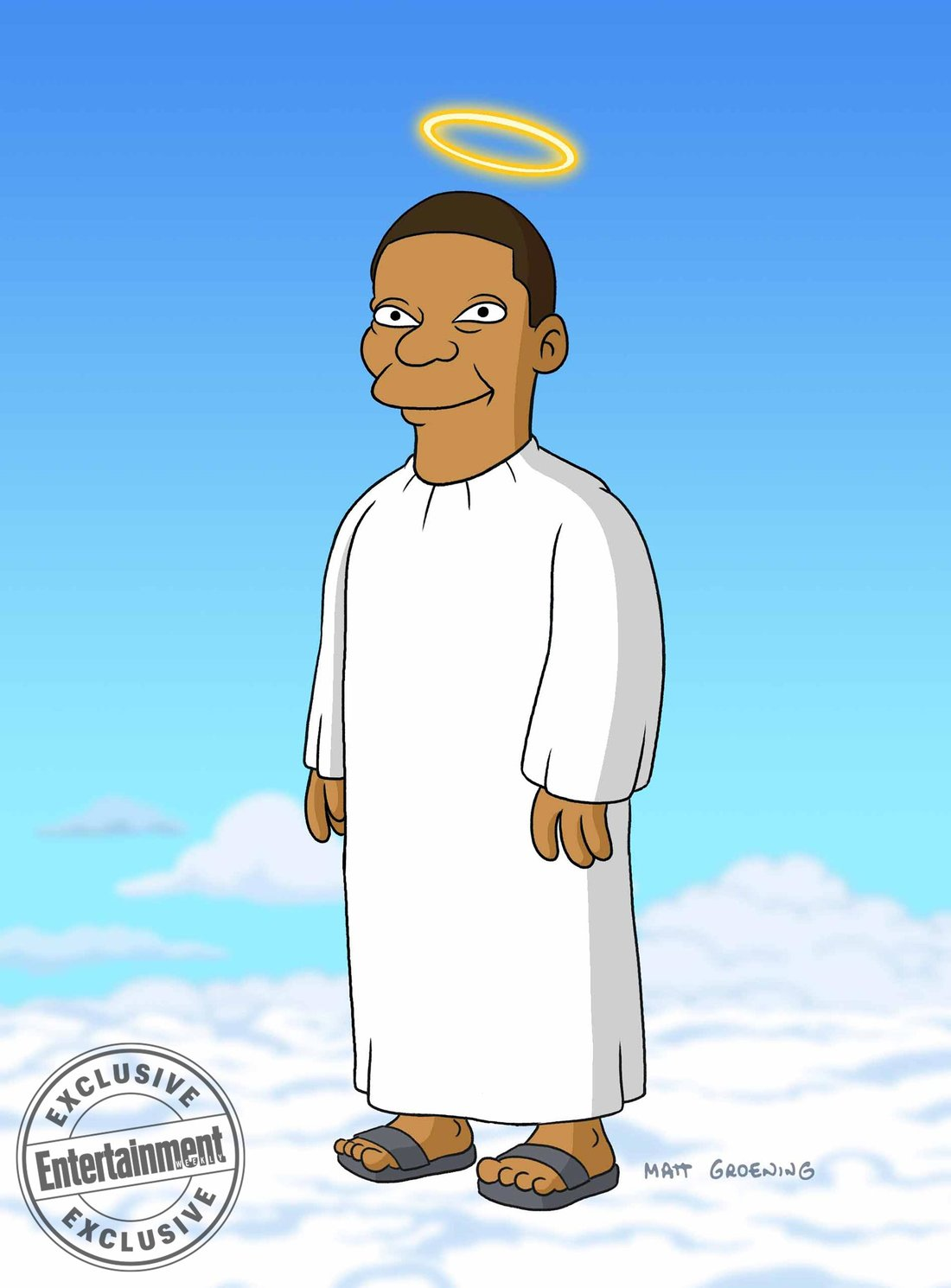 "Tracy Morgan als ""Gaststar"" bei den Simpsons"