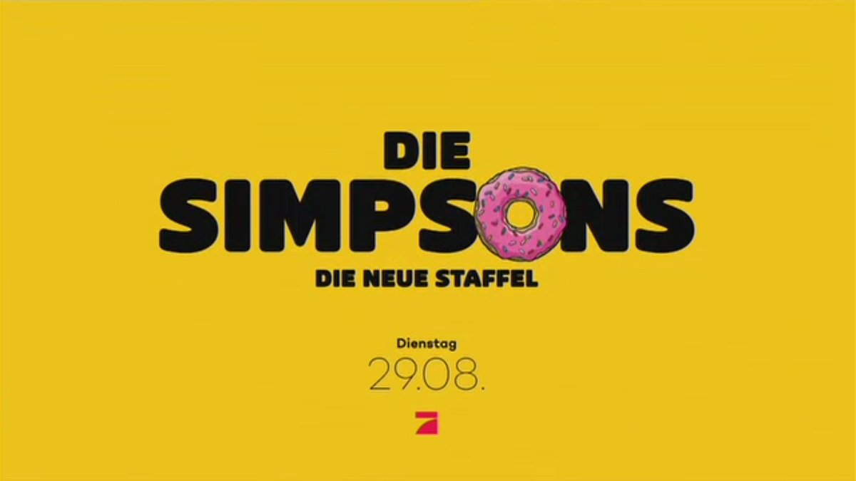 Staffel 28 der Simpsons startet Ende August in Deutschland
