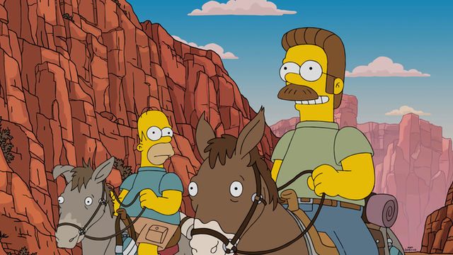 Die Simpsons - Fland Canyon