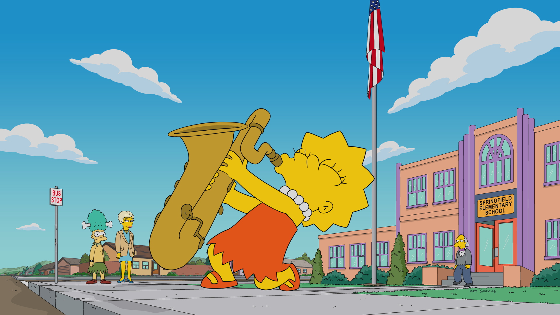 Die Simpsons - Lisa hat den Blues