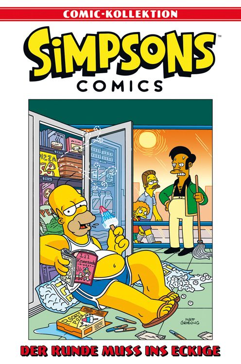 Simpsons Comic-Kollektion Nr. 8