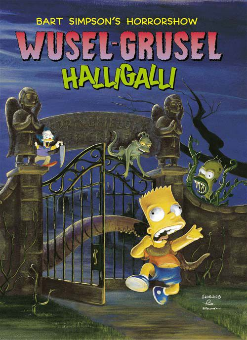 Bart Simpsons Horrorshow Paperbacks