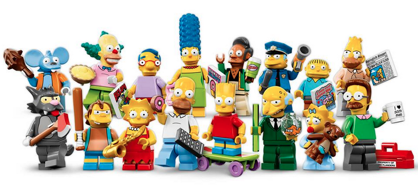 LEGO Simpsons Minifigures (2014)