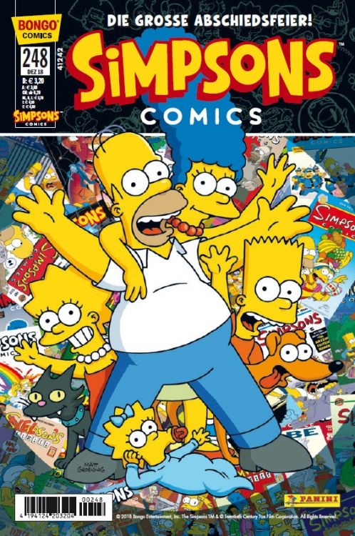 Die Simpsons - Simpsons Comic Nr. 248