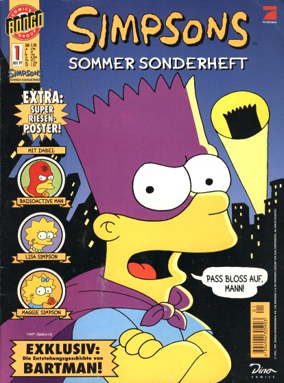 Simpsons Sommer Sonderheft
