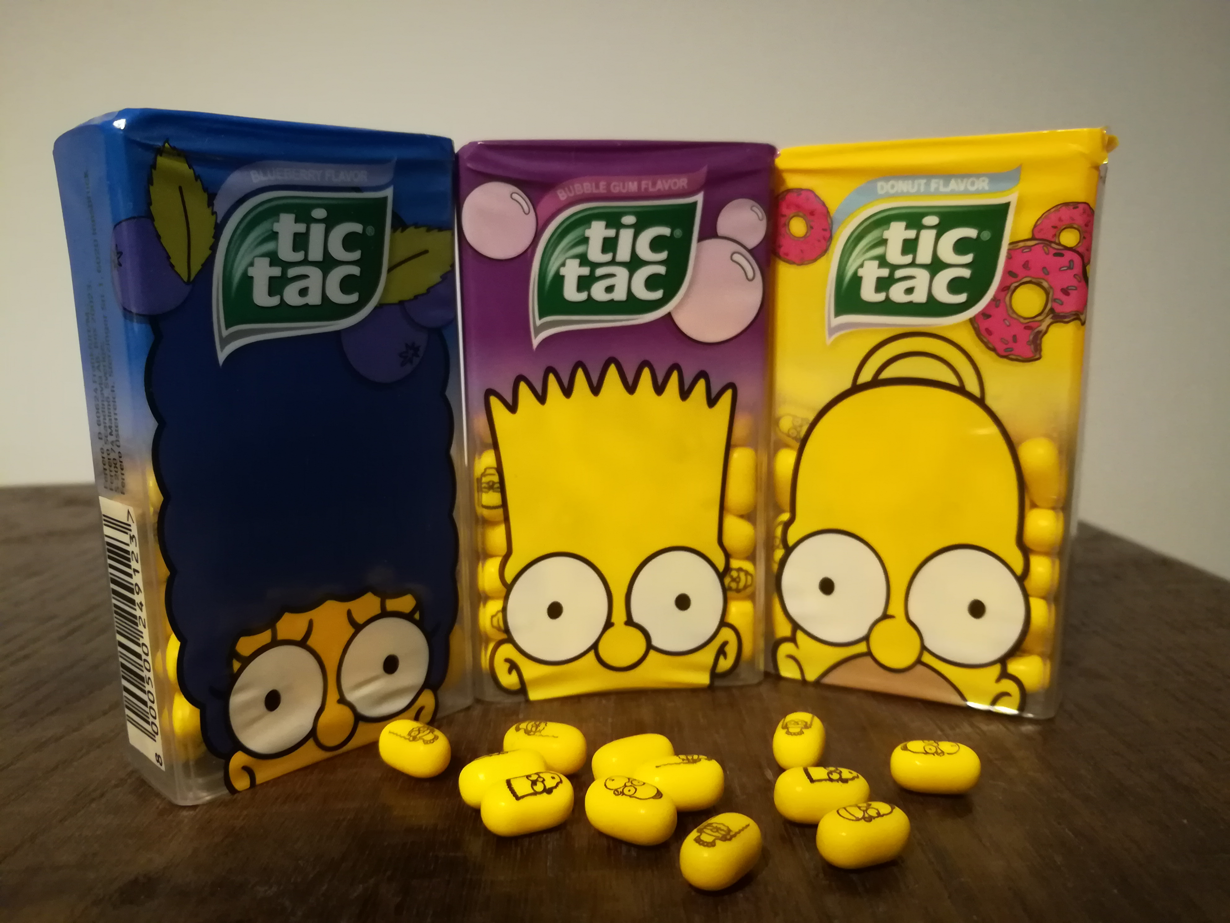 Simpsons Tic Tacs (2016)