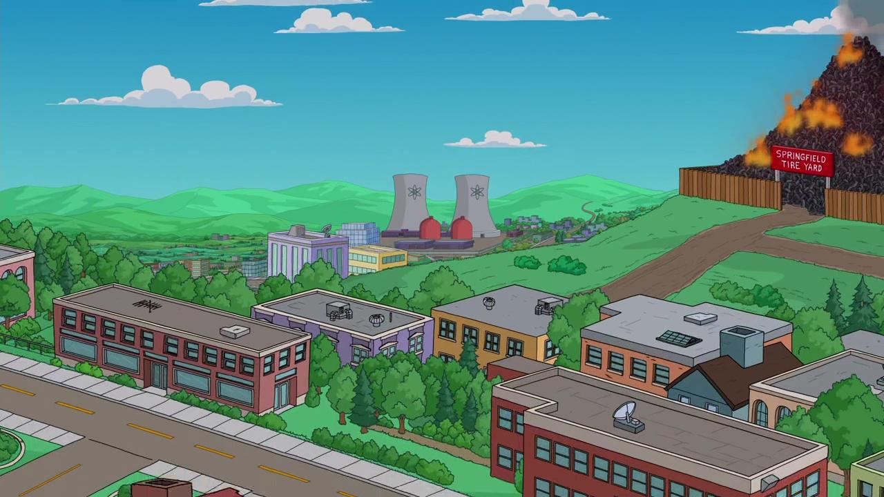 Wie das Springfield der Simpsons aussieht, ist klar - aber wo liegt es eigentlich?