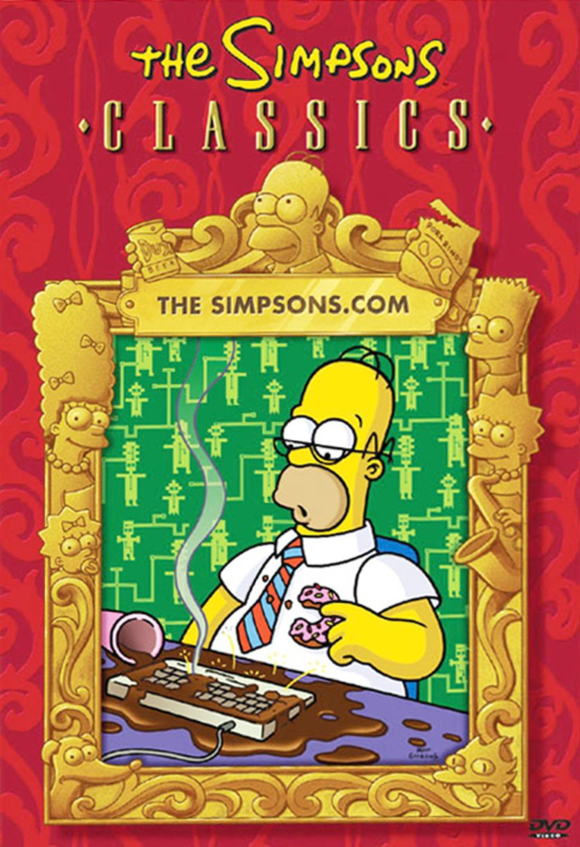 Die Simpsons.com Cover