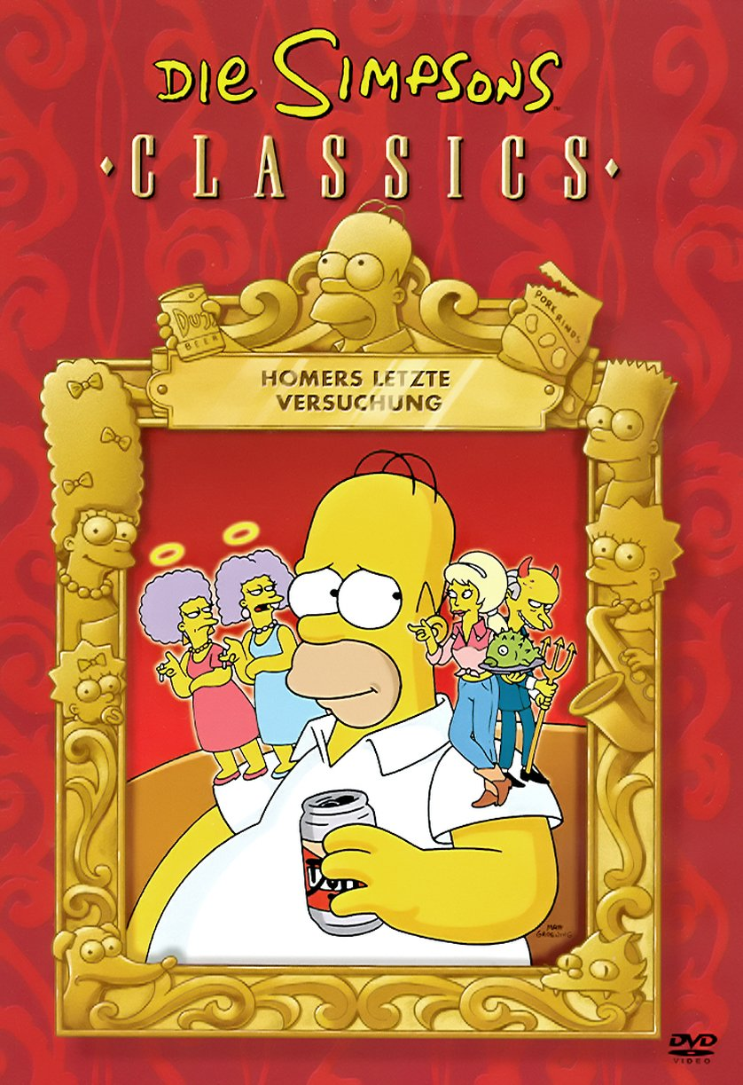 Homers letzte Versuchung Cover