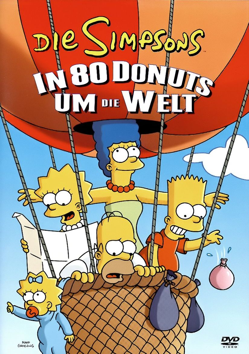 Die Simpsons: In 80 Donuts um die Welt Cover