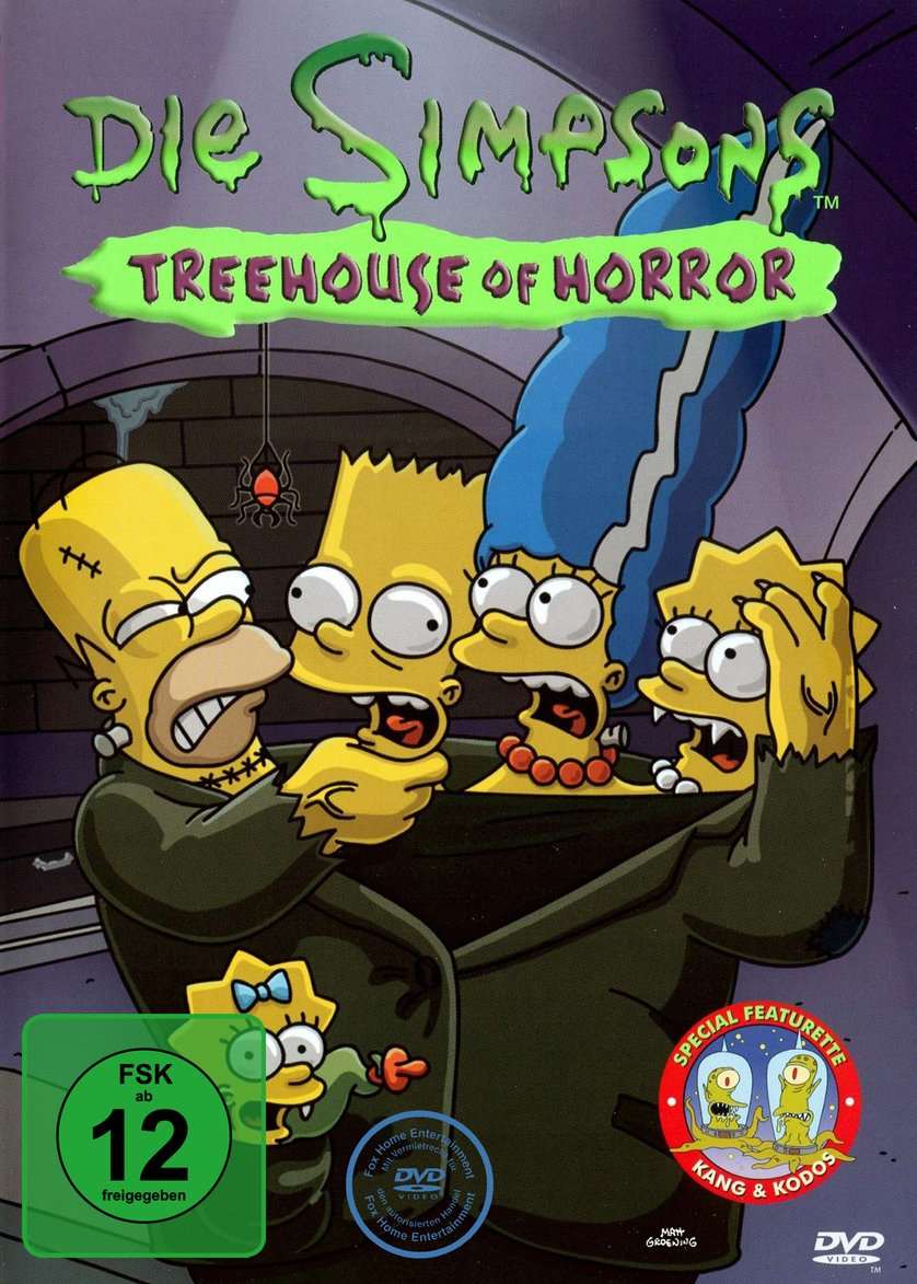 Die Simpsons - Treehouse of Horror Cover