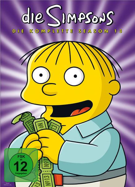 Simpsons Staffel 13 Collection Cover
