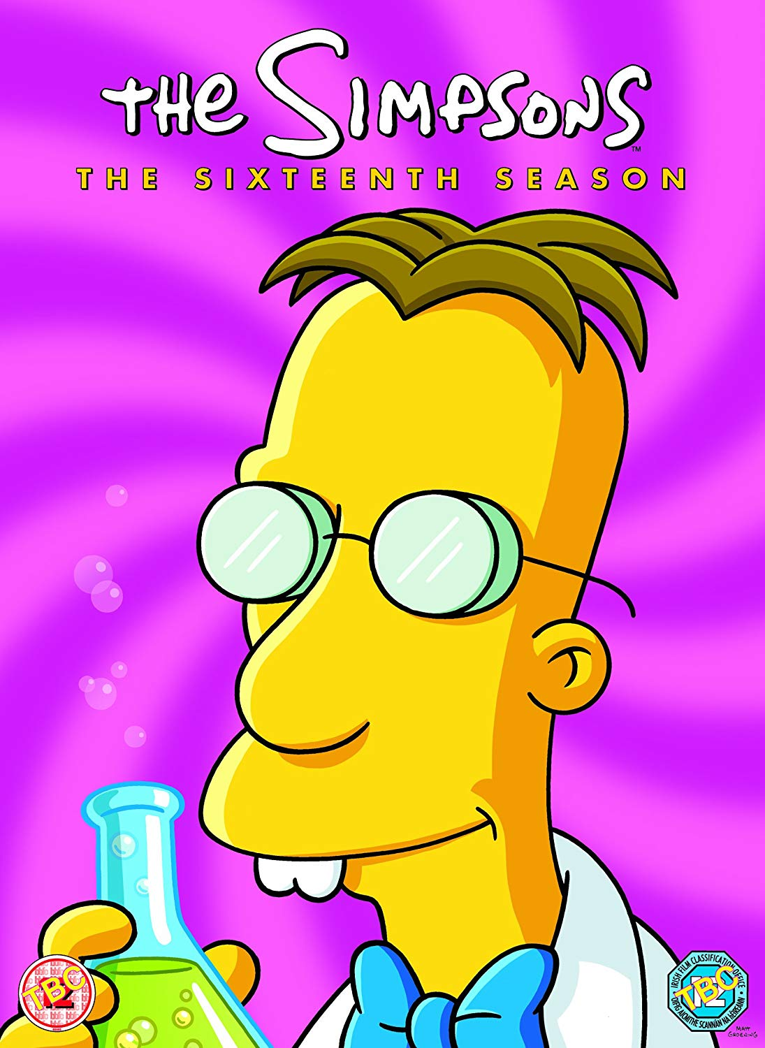 Simpsons Staffel 16 Collection Cover