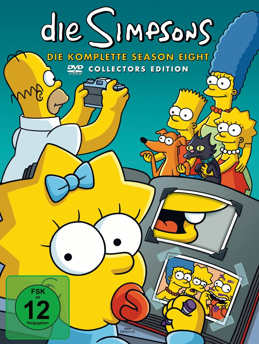 Simpsons Staffel 8 Collection Cover