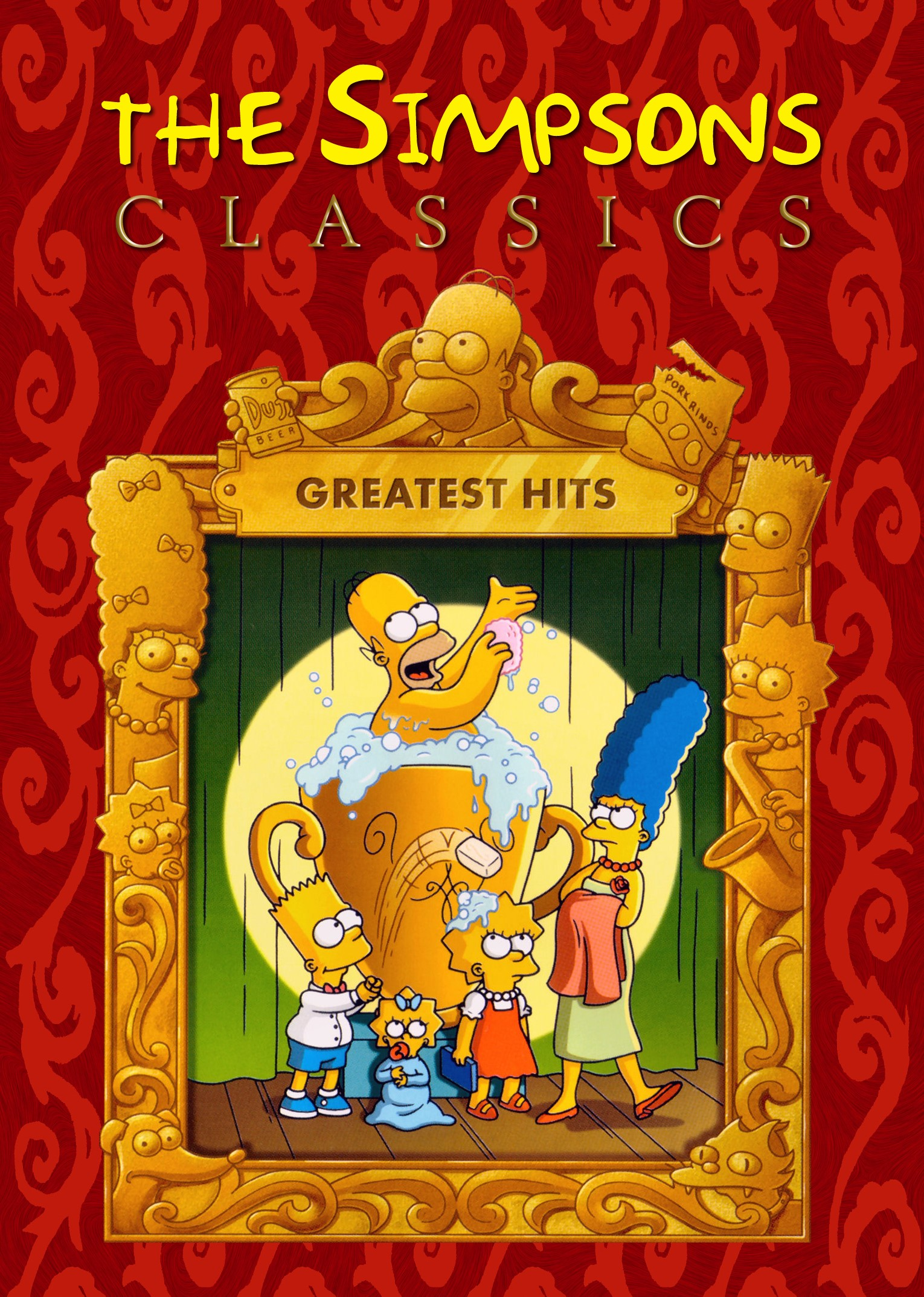Die Simpsons - Greatest Hits Cover