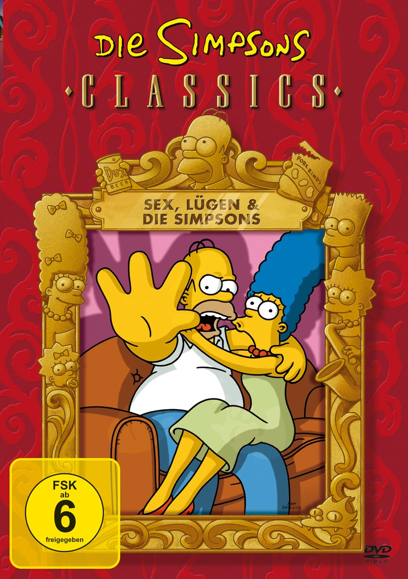 Sex, Lügen & die Simpsons Cover