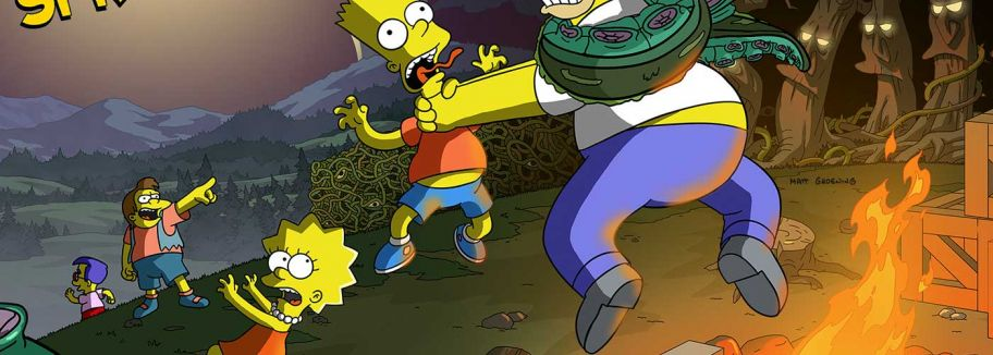 Treehouse of Horror - Update für Die Simpsons: Springfield / Tapped Out