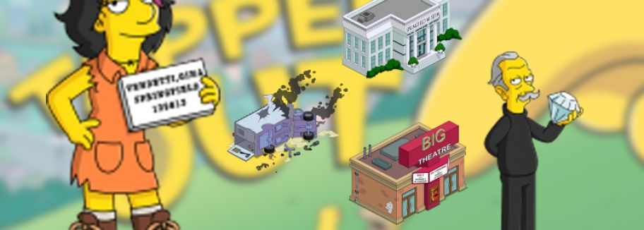 Level 59 - Update für Die Simpsons: Springfield / Tapped Out