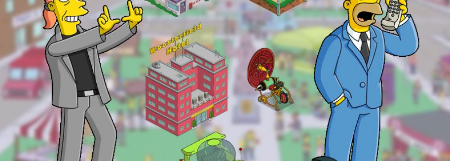 Level 55 - Update für Die Simpsons: Springfield / Tapped Out