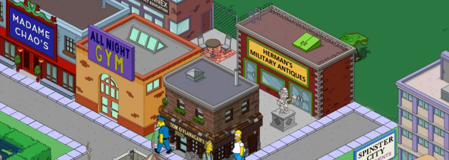 St. Patricks Day - Update für Die Simpsons: Springfield / Tapped