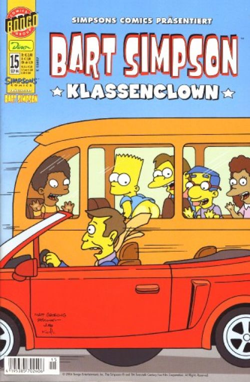 Bart Simpson Comic Nr. 15