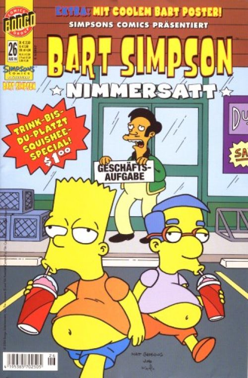 Bart Simpson Comic Nr. 26