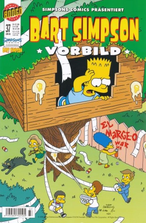 Bart Simpson Comic Nr. 37
