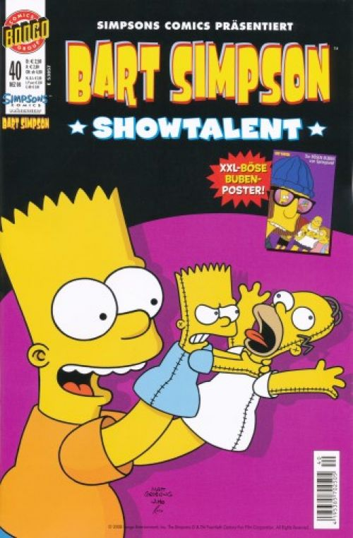 Bart Simpson Comic Nr. 40