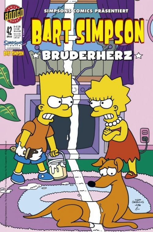 Bart Simpson Comic Nr. 42