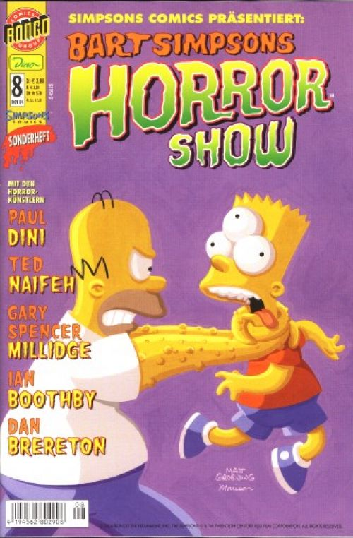 Bart Simpsons Horrorshow Nr. 8