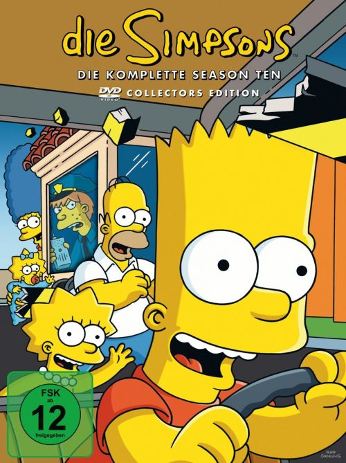 Simpsons Staffel 10 Collection Cover