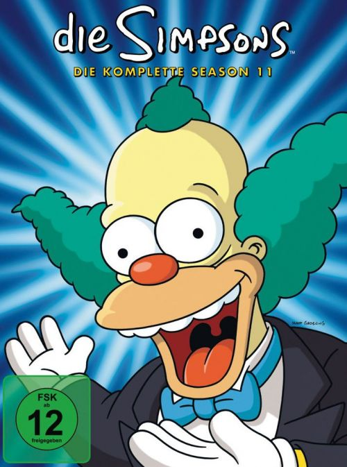 Simpsons Staffel 11 Collection Cover