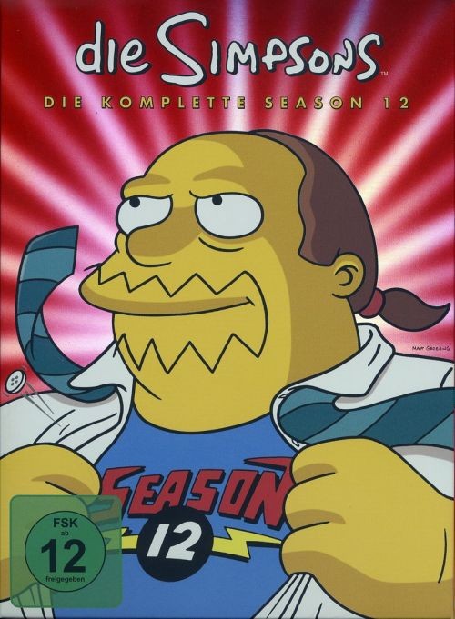 Simpsons Staffel 12 Collection Cover