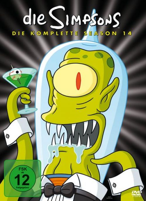 Simpsons Staffel 14 Collection Cover
